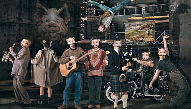 Джош Кирш (Fright Pig): Свиньи на взлете