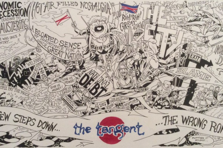 The Tangent «A Few Steps Down the Wrong Road» (EP, 2016)