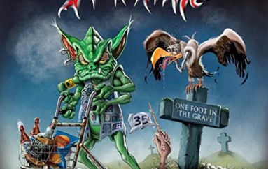 """Tankard """"One Foot in the Grave"""" (2017)"""
